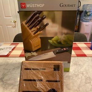 Wusthof Wood Block- Knifes Not Included